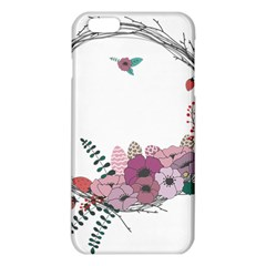 Flowers Twig Corolla Wreath Lease Iphone 6 Plus/6s Plus Tpu Case by Nexatart