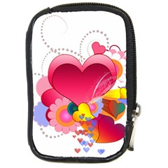 Heart Red Love Valentine S Day Compact Camera Cases