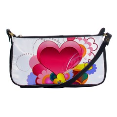 Heart Red Love Valentine S Day Shoulder Clutch Bags