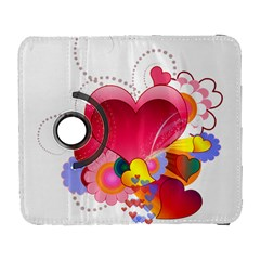 Heart Red Love Valentine S Day Galaxy S3 (flip/folio) by Nexatart
