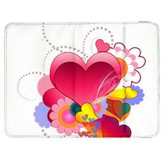 Heart Red Love Valentine S Day Samsung Galaxy Tab 7  P1000 Flip Case