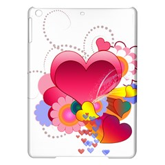 Heart Red Love Valentine S Day Ipad Air Hardshell Cases by Nexatart