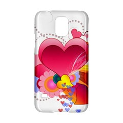 Heart Red Love Valentine S Day Samsung Galaxy S5 Hardshell Case