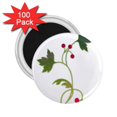 Element Tag Green Nature 2 25  Magnets (100 Pack)
