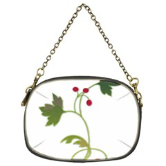 Element Tag Green Nature Chain Purses (two Sides)  by Nexatart