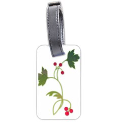 Element Tag Green Nature Luggage Tags (two Sides) by Nexatart