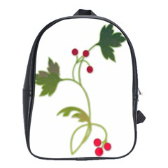 Element Tag Green Nature School Bags (xl)  by Nexatart
