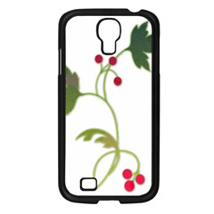 Element Tag Green Nature Samsung Galaxy S4 I9500/ I9505 Case (black)