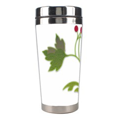 Element Tag Green Nature Stainless Steel Travel Tumblers by Nexatart