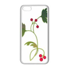 Element Tag Green Nature Apple Iphone 5c Seamless Case (white) by Nexatart