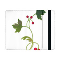 Element Tag Green Nature Samsung Galaxy Tab Pro 8 4  Flip Case by Nexatart