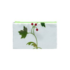 Element Tag Green Nature Cosmetic Bag (xs) by Nexatart