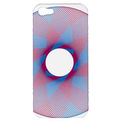 Spirograph Pattern Drawing Design Apple Iphone 5 Hardshell Case by Nexatart
