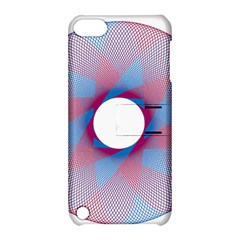 Spirograph Pattern Drawing Design Apple Ipod Touch 5 Hardshell Case With Stand by Nexatart
