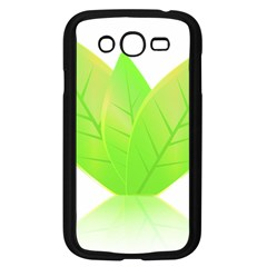 Leaves Green Nature Reflection Samsung Galaxy Grand Duos I9082 Case (black) by Nexatart