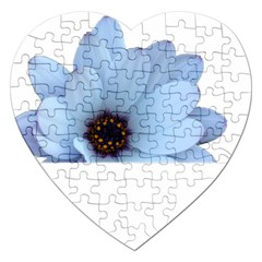 Daisy Flower Floral Plant Summer Jigsaw Puzzle (heart) by Nexatart