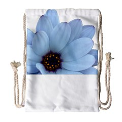 Daisy Flower Floral Plant Summer Drawstring Bag (large) by Nexatart