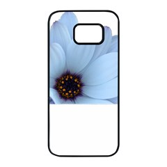 Daisy Flower Floral Plant Summer Samsung Galaxy S7 Edge Black Seamless Case by Nexatart