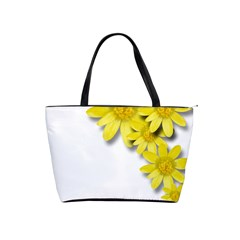 Flowers Spring Yellow Spring Onion Shoulder Handbags