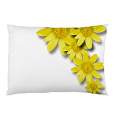 Flowers Spring Yellow Spring Onion Pillow Case (two Sides) by Nexatart