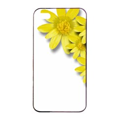 Flowers Spring Yellow Spring Onion Apple Iphone 4/4s Seamless Case (black) by Nexatart