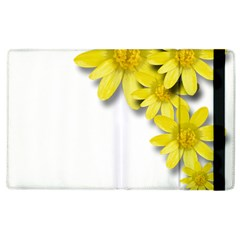 Flowers Spring Yellow Spring Onion Apple Ipad 2 Flip Case