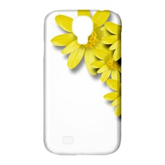 Flowers Spring Yellow Spring Onion Samsung Galaxy S4 Classic Hardshell Case (pc+silicone) by Nexatart