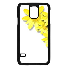 Flowers Spring Yellow Spring Onion Samsung Galaxy S5 Case (black) by Nexatart