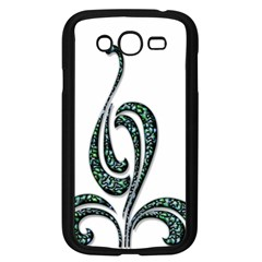 Scroll Retro Design Texture Samsung Galaxy Grand Duos I9082 Case (black)