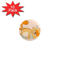 Even Cat Hates Monday 1  Mini Magnet (10 Pack)  by Catifornia