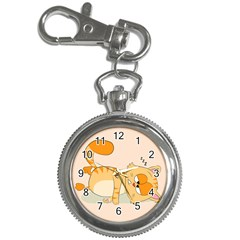 Even Cat Hates Monday Key Chain Watches by Catifornia