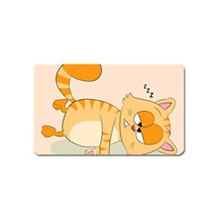 Even Cat Hates Monday Magnet (name Card) by Catifornia