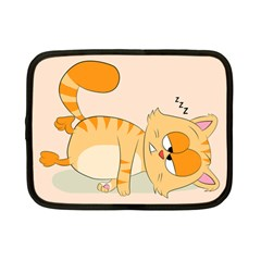 Even Cat Hates Monday Netbook Case (small)  by Catifornia