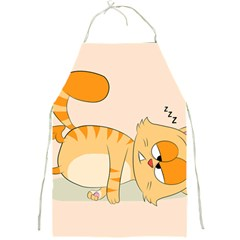 Even Cat Hates Monday Full Print Aprons by Catifornia