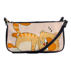 Even Cat Hates Monday Shoulder Clutch Bags by Catifornia
