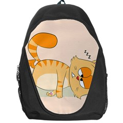 Even Cat Hates Monday Backpack Bag by Catifornia