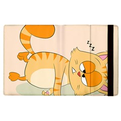 Even Cat Hates Monday Apple Ipad 2 Flip Case by Catifornia