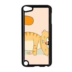 Even Cat Hates Monday Apple Ipod Touch 5 Case (black) by Catifornia