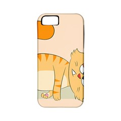 Even Cat Hates Monday Apple Iphone 5 Classic Hardshell Case (pc+silicone) by Catifornia