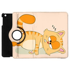 Even Cat Hates Monday Apple Ipad Mini Flip 360 Case by Catifornia