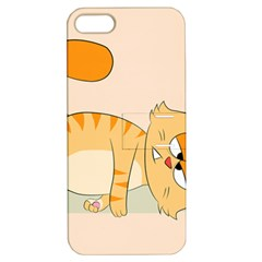 Even Cat Hates Monday Apple Iphone 5 Hardshell Case With Stand by Catifornia