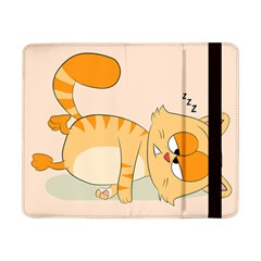 Even Cat Hates Monday Samsung Galaxy Tab Pro 8 4  Flip Case by Catifornia