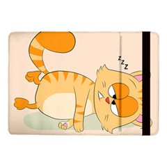 Even Cat Hates Monday Samsung Galaxy Tab Pro 10 1  Flip Case by Catifornia