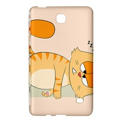 Even Cat Hates Monday Samsung Galaxy Tab 4 (8 ) Hardshell Case  by Catifornia