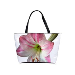 Flower Blossom Bloom Amaryllis Shoulder Handbags by Nexatart