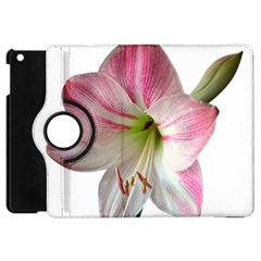 Flower Blossom Bloom Amaryllis Apple Ipad Mini Flip 360 Case by Nexatart