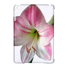 Flower Blossom Bloom Amaryllis Apple Ipad Mini Hardshell Case (compatible With Smart Cover) by Nexatart