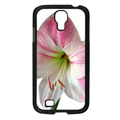 Flower Blossom Bloom Amaryllis Samsung Galaxy S4 I9500/ I9505 Case (black) by Nexatart