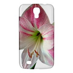 Flower Blossom Bloom Amaryllis Samsung Galaxy Mega 6 3  I9200 Hardshell Case by Nexatart