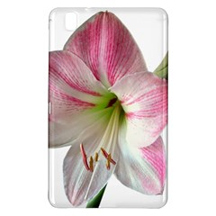 Flower Blossom Bloom Amaryllis Samsung Galaxy Tab Pro 8 4 Hardshell Case by Nexatart